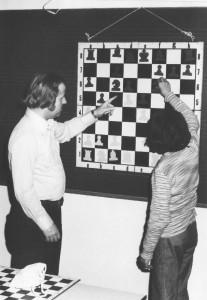 Svend Svendsen på skaklejr i 1960