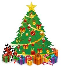 juletræ-skakshoppen