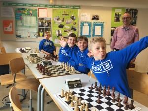 Hyllehøj skoleskak klar til skak
